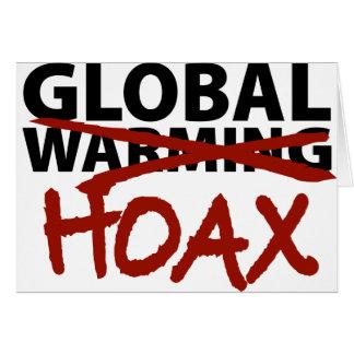 Broma del calentamiento del planeta felicitacion