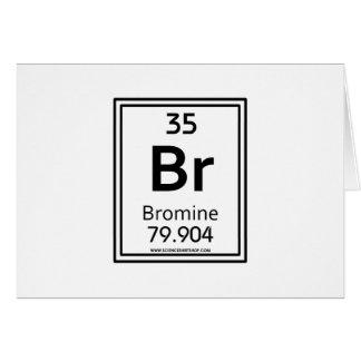 Bromo 35 tarjeta de felicitación
