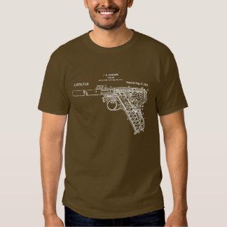 Bronceado de la camisa del arte del arma