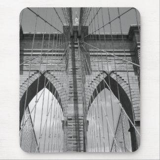 Brooklyn Brdige - B&W Alfombrilla De Ratón