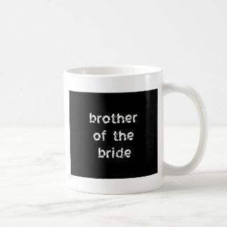 Brother de la novia taza de café