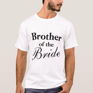 Brother de las camisetas de la novia