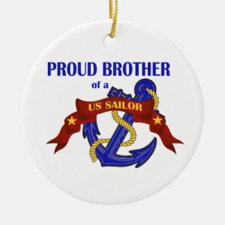 Brother orgulloso de un ornamento del marinero de ornamento de reyes magos