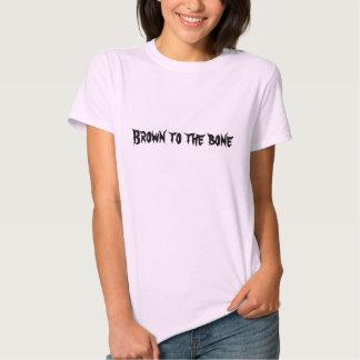 Brown al hueso camisetas