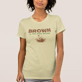 Brown es el nuevo verde camiseta