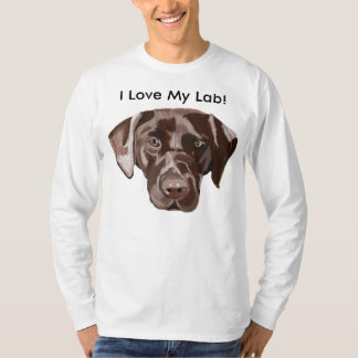 Brown Labrador Camiseta