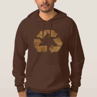 Brown recicla la muestra jersey encapuchado