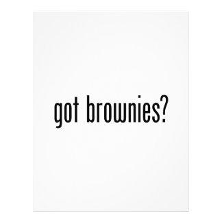brownie conseguidos folleto 21,6 x 28 cm