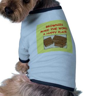 brownie del brownie camisetas mascota