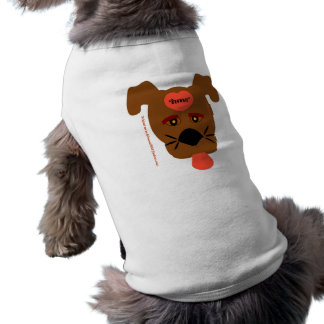 Brownie el perro camisas de mascota