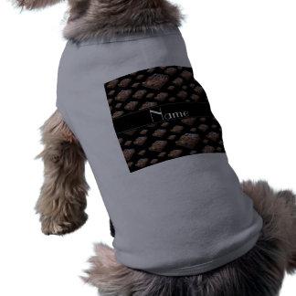 Brownie negros conocidos personalizados camiseta sin mangas para perro