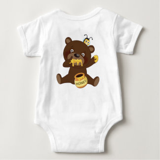 Brownie y BB 02 Body Para Bebé