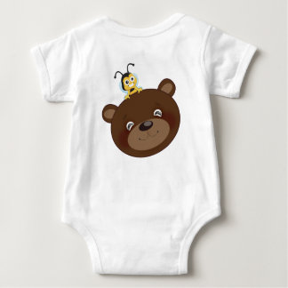 Brownie y BB 41 Body Para Bebé