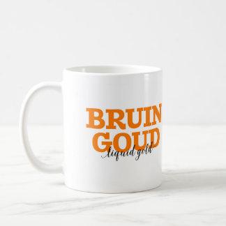 Bruin Goud/vocabulario holandés de la palabra del Taza De Café