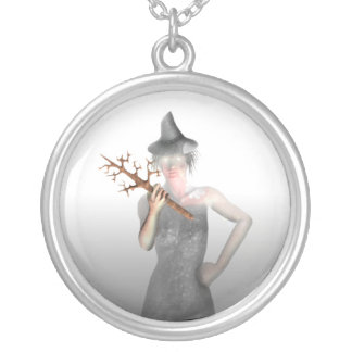 Bruja - collar de Halloween