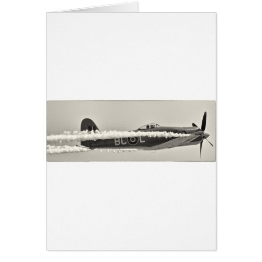 Bruja de Grumman F6F Tarjeta De Felicitación