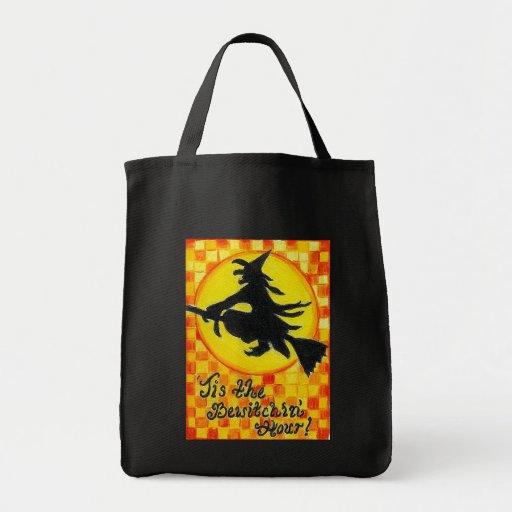 Bruja de Halloween - bolso Bewitching de la hora Bolsas De Mano