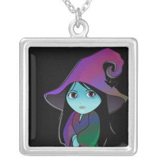 Bruja de Lil en vestido del arco iris Grimpola
