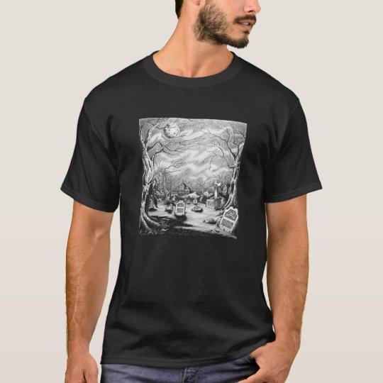 Bruja del cementerio camiseta