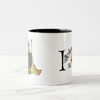 Bruja inmediata taza bicolor