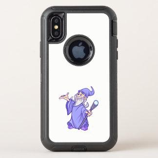 Bruja púrpura mágica del mago del mago