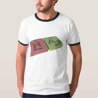 Bruja vieja como el hidrógeno de H y plata del AG Camisetas