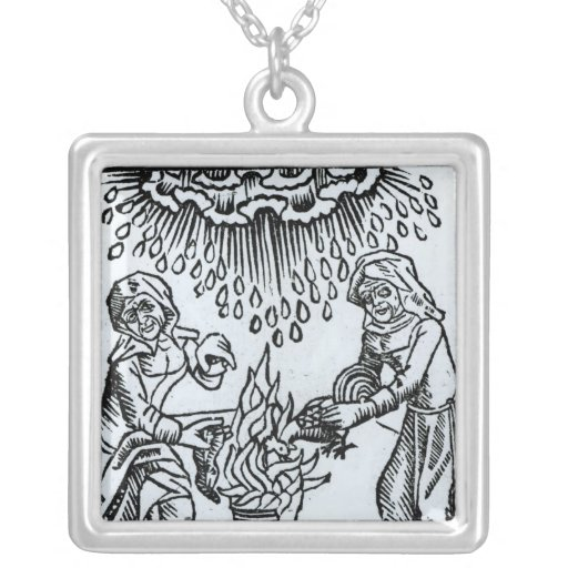 Brujas que hacen un encanto, 1489 joyeria personalizada