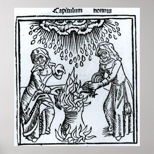 Brujas que hacen un encanto, 1489 poster