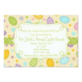 Brunch de Pascua Invitación 8,9 X 12,7 Cm