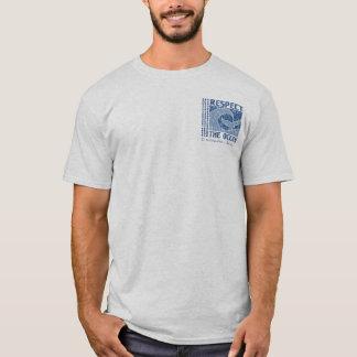 BT321 - Respete el océano, proteja la camiseta del