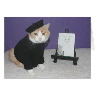 Bubba, d'artiste de la charla tarjeta de felicitación