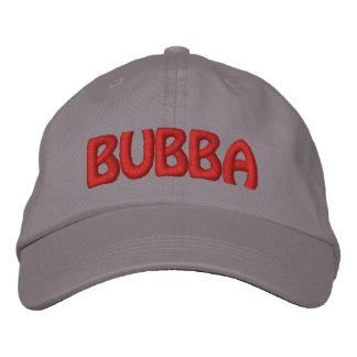 ¡Bubba! Nombre divertido del campesino sureño Gorra De Béisbol Bordada
