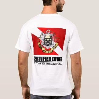 Buceador certificado (BDT) Camiseta