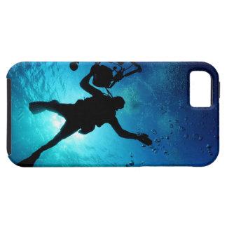 Buceador subacuático iPhone 5 Case-Mate carcasa