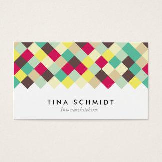 Bucear en color tarjeta de presentación