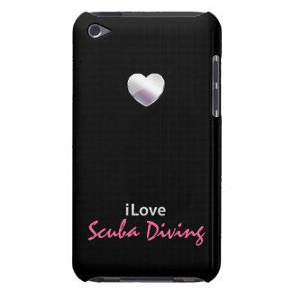 Buceo con escafandra lindo iPod touch Case-Mate coberturas