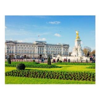 Buckingham Palace y monumento de Victoria Postal