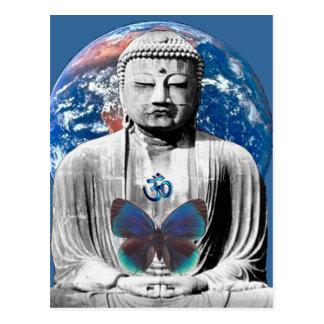 Buda aguarda la postal