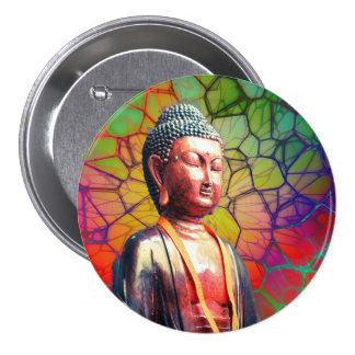 Buda Chapa Redonda De 7 Cm