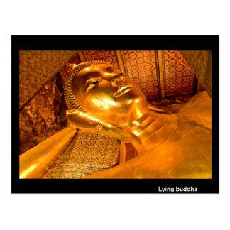 Buda de mentira Tailandia Postal