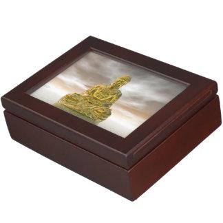 Buda de oro - 3D rinden Caja De Recuerdos