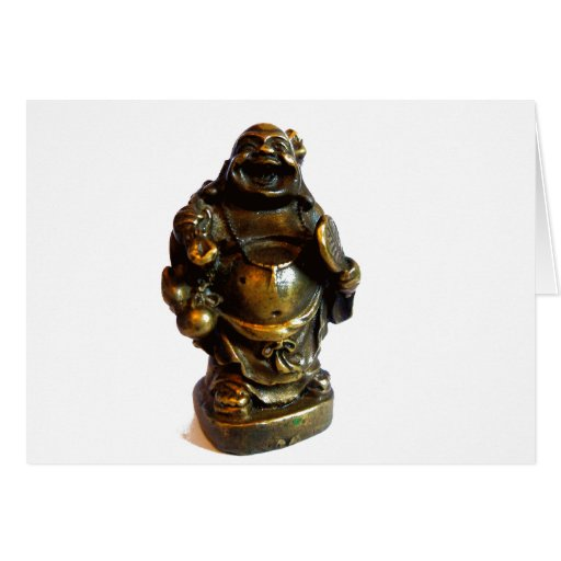 Buda de risa tarjetón