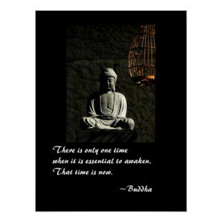 Buda despierta poster