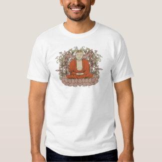 Buda en la flor de Lotus Camiseta