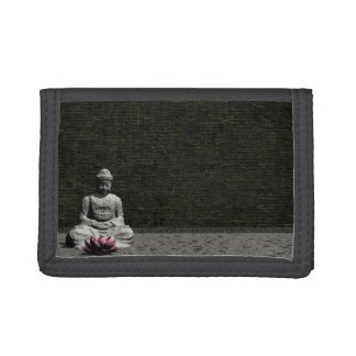 Buda en sitio gris - 3D rinden