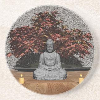 Buda en un cuarto - 3D rinden Portavasos