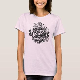 Buda enrrollado camiseta