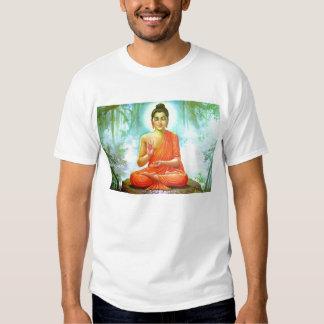 Buda meditating camisas