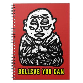"""""""Buda ruega"""" el cuaderno espiral"""