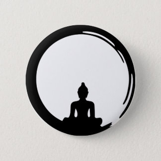 Buda silent chapa redonda de 5 cm